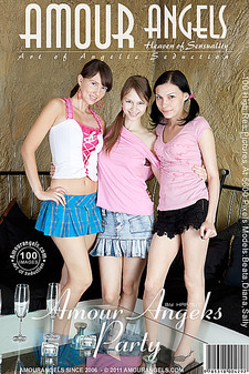 Amour Angels - Beata, Diana, Sally (Ivanna) - Amour Angels Party