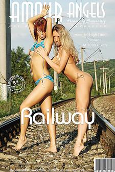 AmourAngels - Sofia (Manika), Sabrina - Railway
