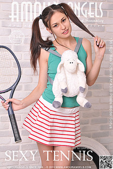 Amour Angels - Sonya (Mila) - Sexy Tennis